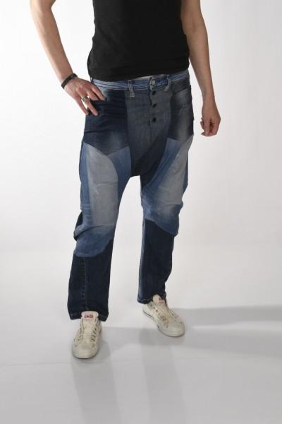 Boho-Hose im Harems-Stil Jeans