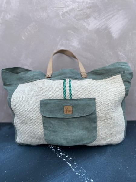 (L)einkaufstasche grün